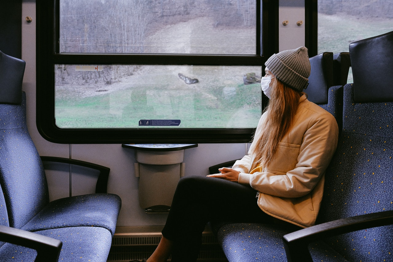 COVID-19: How Can a Person Be Safe When Using Public Transportation?